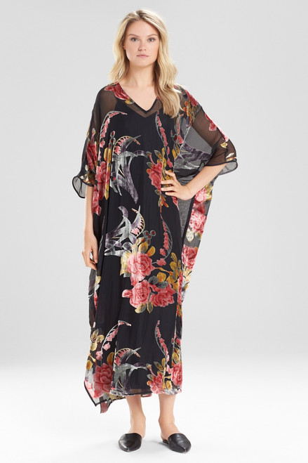 Natori Velvet Burnout Caftan at The Natori Company