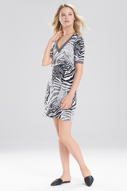 Buy Natori Feathers Essential Zebra Sleepshirt from