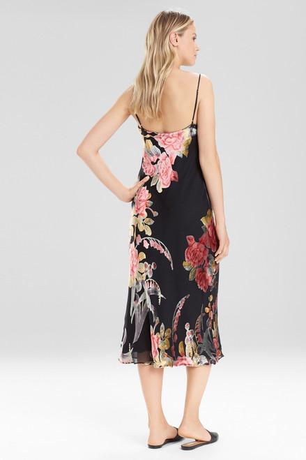 Natori Velvet Burnout Gown at The Natori Company