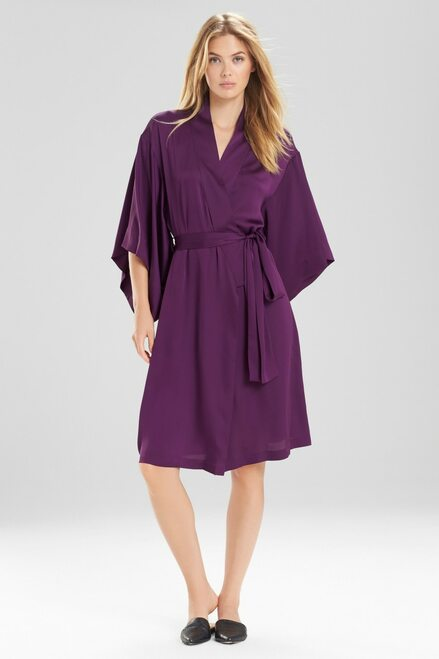 Buy Natori Feathers Satin Solid Wrap from