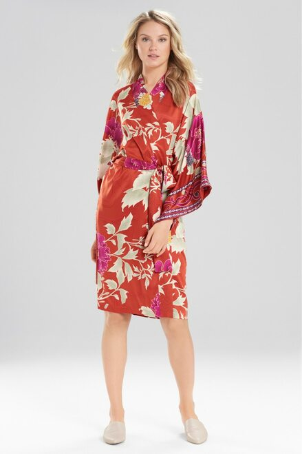 Buy Natori Auburn Floral Robe from