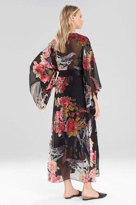 Natori Velvet Burnout Robe at The Natori Company