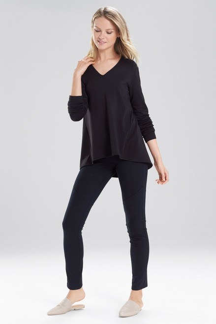 Natori Brushed Knit Top at The Natori Company