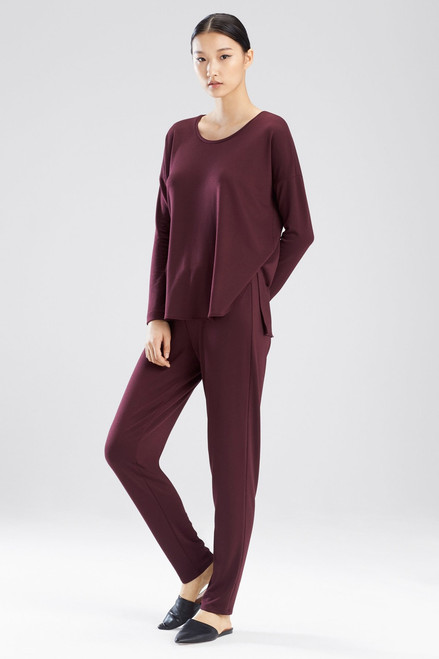 Natori Zen French Terry Top at The Natori Company