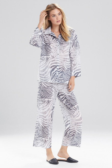 Buy Natori Printed Cotton Voile PJ from