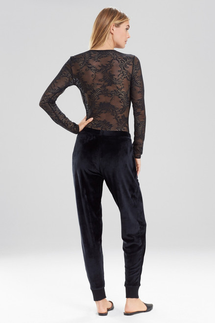 Natori Luxe Velour Pants at The Natori Company
