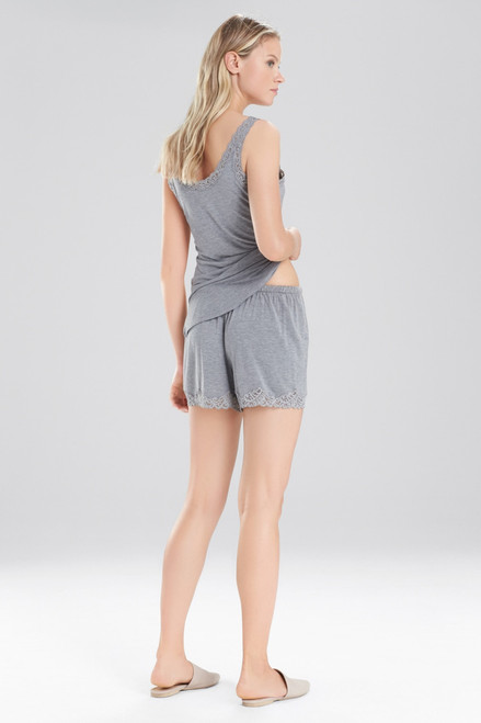 Natori Feathers Essentials Shorts With Lace at The Natori Company