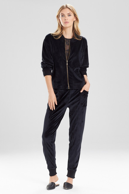 Natori Luxe Velour Jacket at The Natori Company