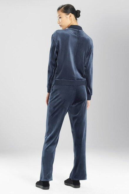 Natori Luxe Velour Jacket at The Natori Company