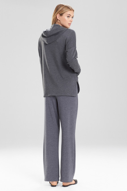 Natori Brushed Knit Hoodie at The Natori Company