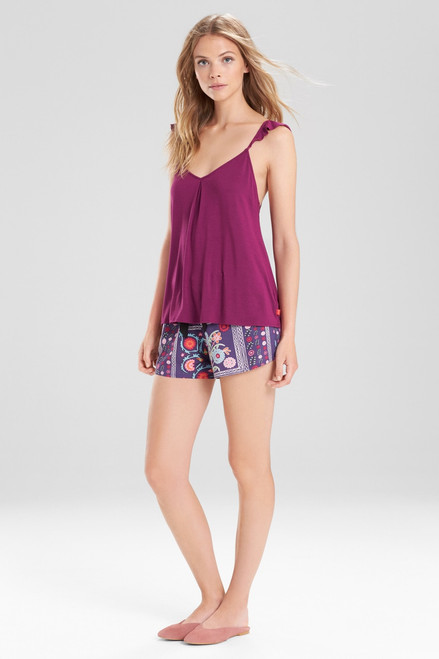 Josie Boheme PJ Set Purple/Pink at The Natori Company