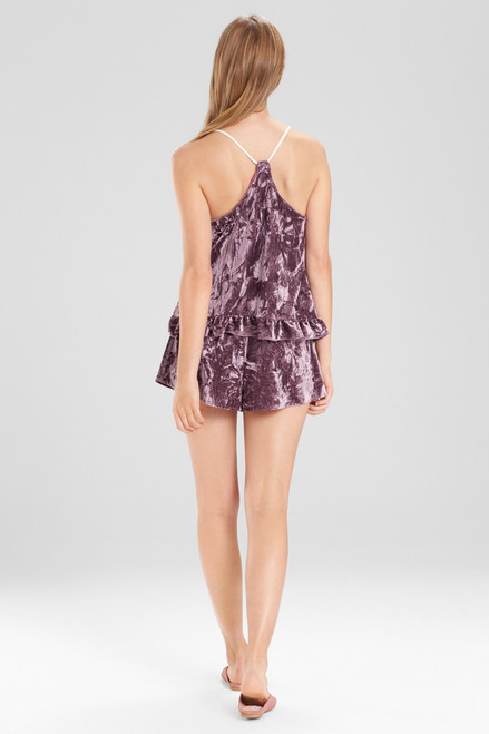 Josie Velvet Crush Shorts at The Natori Company