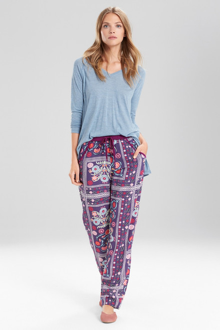 Buy Josie Boheme Pants Purple/Pink from