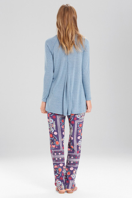 Josie Boheme Pants Purple/Pink at The Natori Company
