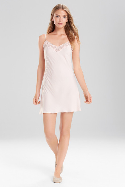 Josie Bardot Satin Chemise at The Natori Company