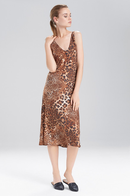 Buy N Natori Animal Mirage Gown from