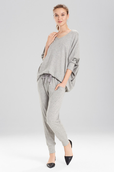 Buy N Natori Retreat Jersey Sweater Knit Top from