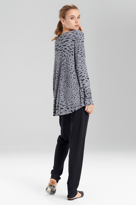 N Natori Tonal Animal Top at The Natori Company