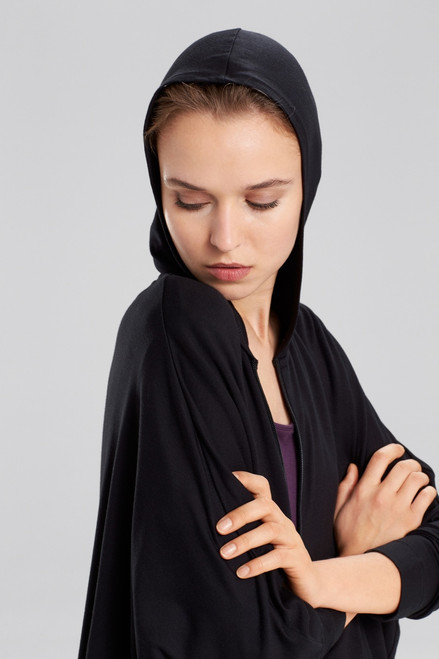 N Natori Everywhere French Terry Jacket at The Natori Company
