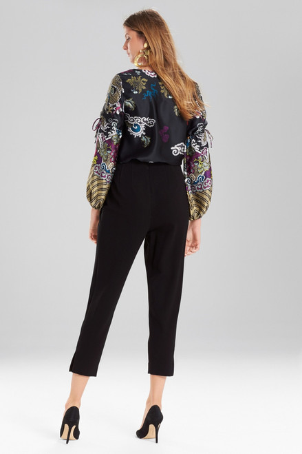 Josie Natori Abstract Dragon Top at The Natori Company