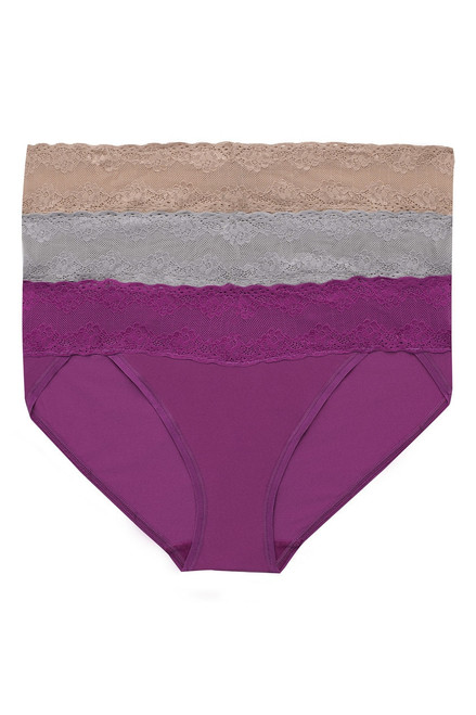 Natori Bliss Perfection One-Size V-Kini 3 Pack at The Natori Company