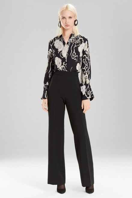 Buy Josie Natori Wandering Clouds Button Down Top from