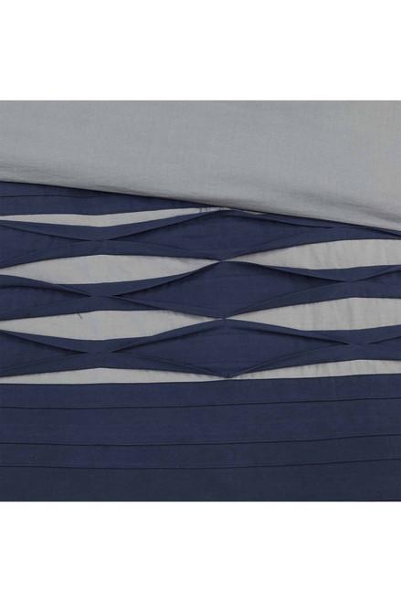 N Natori Nara Navy Comforter Set at The Natori Company