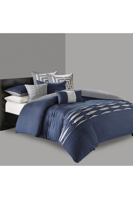 Buy N Natori Nara Navy Duvet Mini Set from