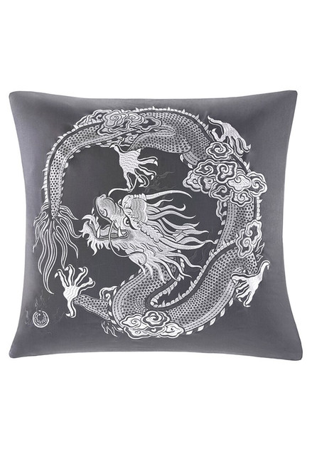 Buy Natori Sterling Dragon Euro Sham from