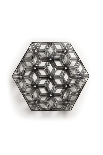 Natori Naga Hexagon Tray at The Natori Company