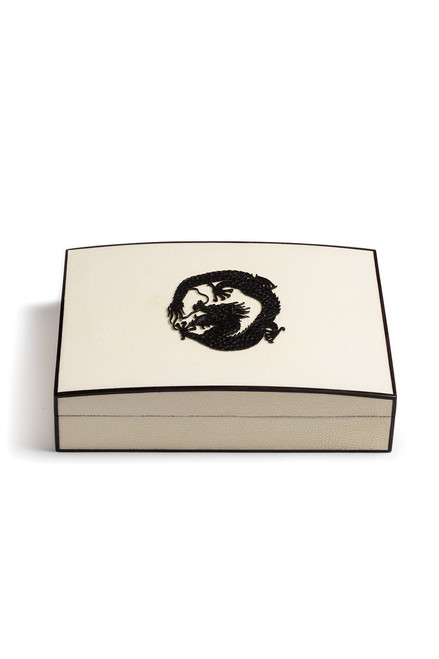 Buy Natori Shagreen Dragon Box from