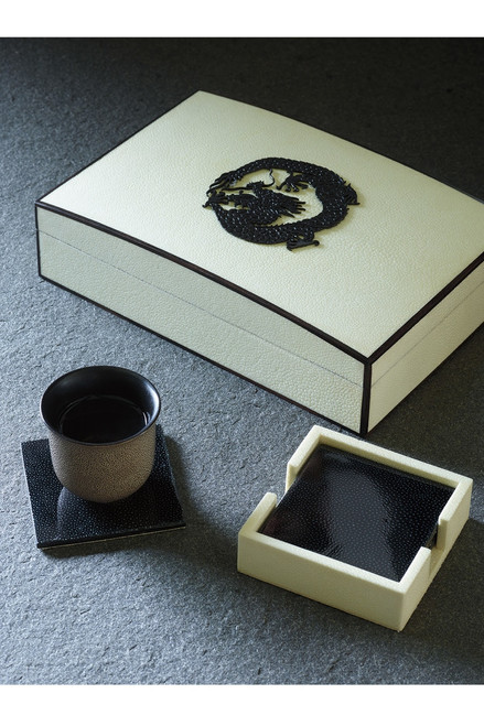 Natori Shagreen Dragon Box at The Natori Company