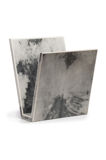 Buy Natori Shagreen Marble Magazine Rack from