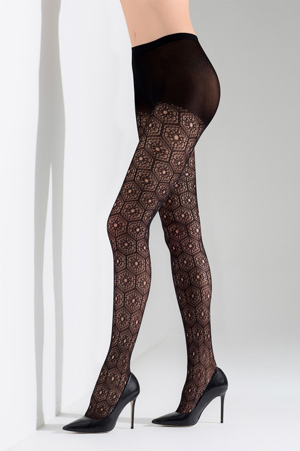 Buy Natori Net Medallion Tights from