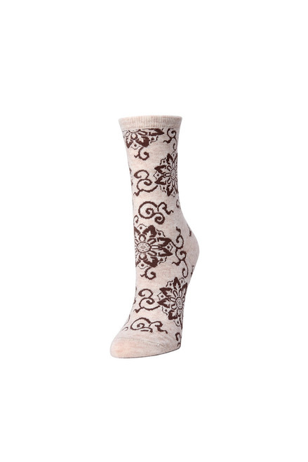 Natori Medallion Socks at The Natori Company