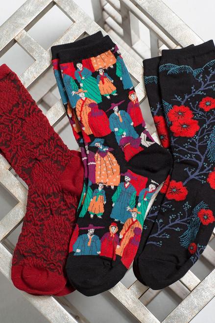 Natori Fields of Chi Socks at The Natori Company