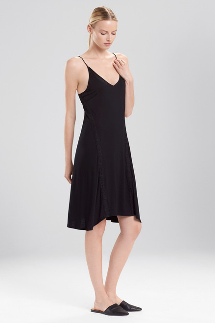 Buy Natori Feather Essentials Midi Slip With Lace from