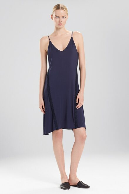 Buy Natori Feathers Essentials Midi Slip With Lace from