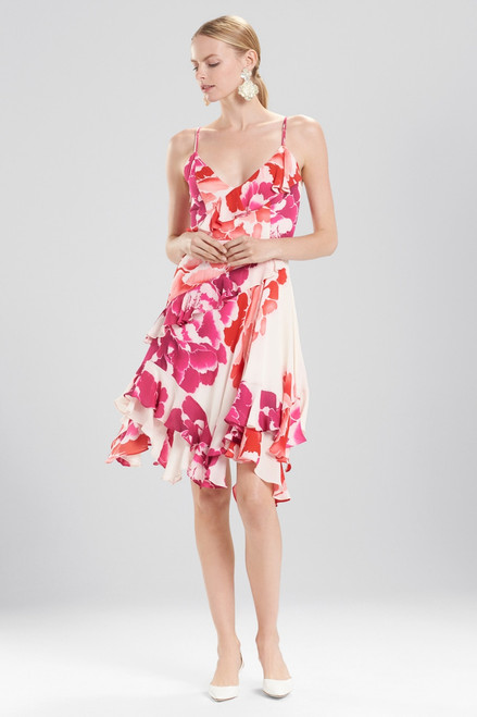 Buy Josie Natori Peony Ruffle Slip Dress from