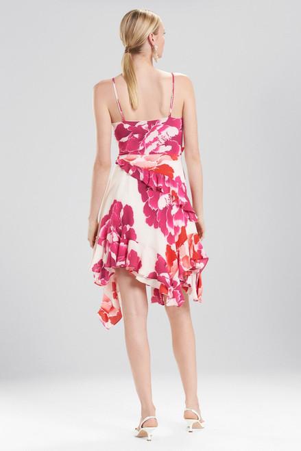 Josie Natori Peony Ruffle Slip Dress at The Natori Company