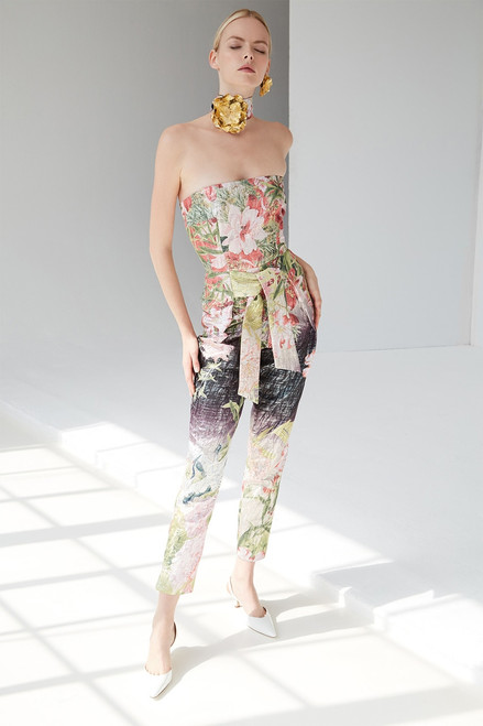 Josie Natori Birds Of Paradise Jumpsuit at The Natori Company