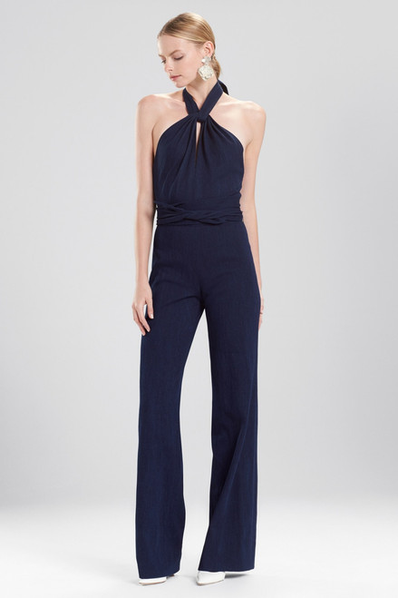 Buy Josie Natori Denim Jumpsuit from