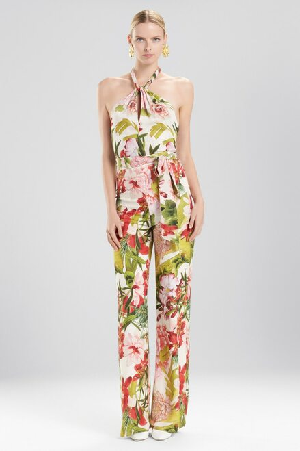 Buy Josie Natori Paradise Floral Jumpsuit from