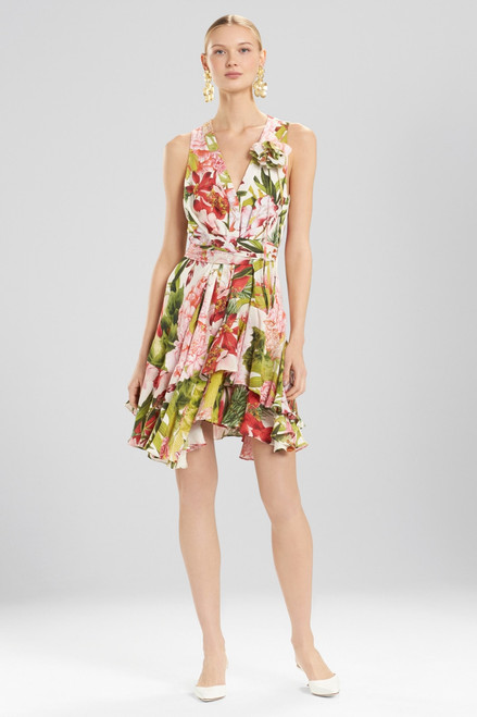 Buy Josie Natori Paradise Floral Dress With Corsage from