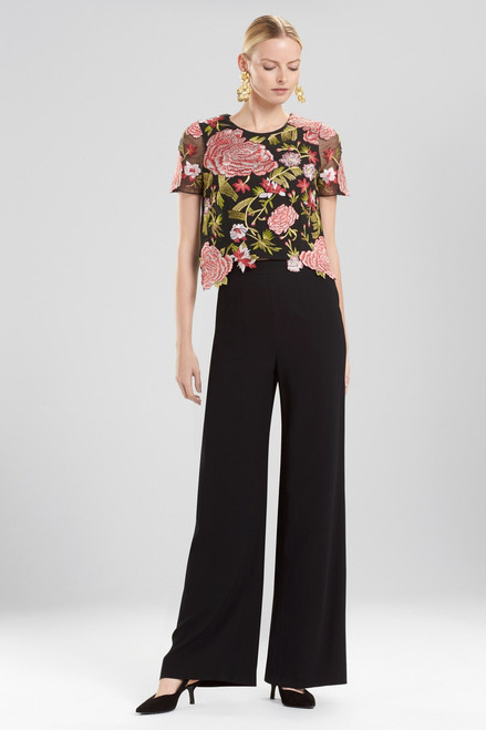 Buy Josie Natori Core Crepe T-Shirt Top from