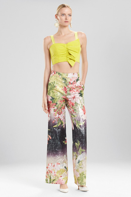 Buy Josie Natori Birds Of Paradise Wide Leg Pants from