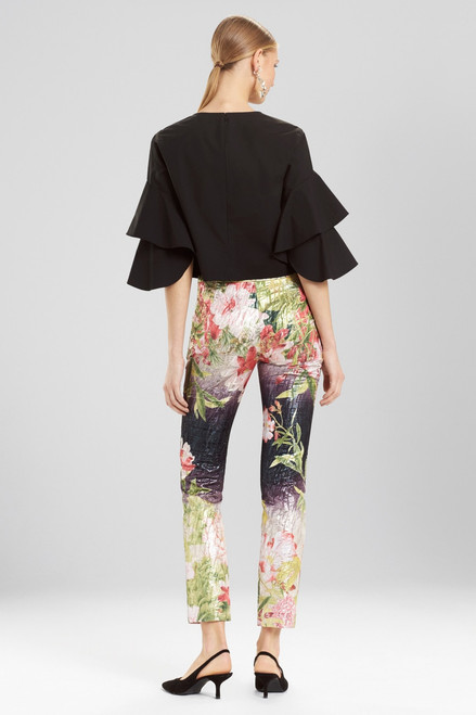 Josie Natori Birds Of Paradise Pants at The Natori Company