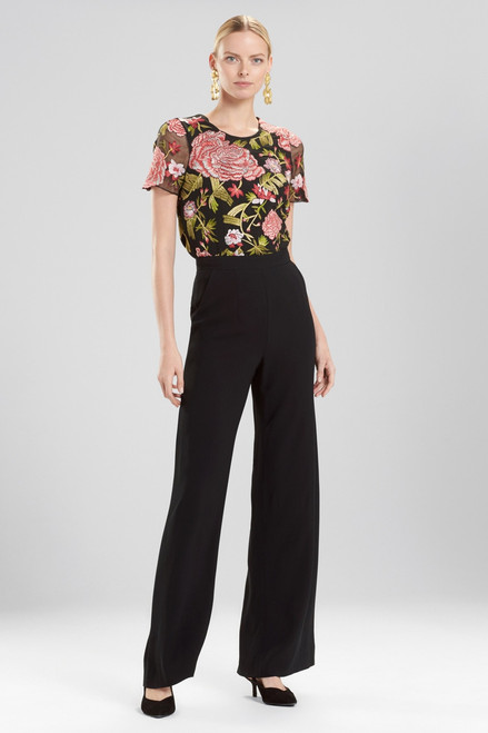Buy Josie Natori Core Crepe Wide Leg Pants from