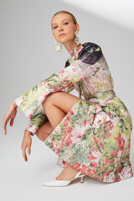 Josie Natori Birds Of Paradise Jacket at The Natori Company
