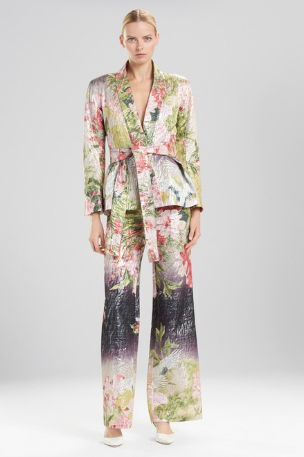 Buy Josie Natori Birds Of Paradise Belted Jacket from